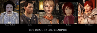 KH REQUESTED MORPHS