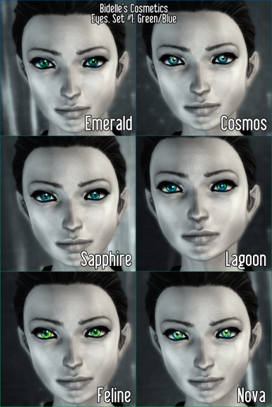 BC- Eyes- Green and Blue