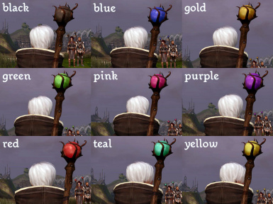 Staff of Many Colours