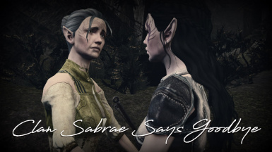 Clan Sabrae Says Goodbye - Dalish Elf Origin