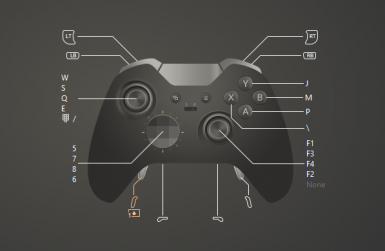 Dragon Age Origins controller support for any Xbox Controller
