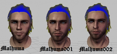 Human Male Morph and Preset with MRH Files