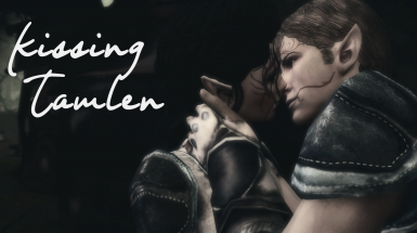 Kissing Tamlen - Dalish Elf Origin