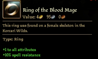 Ring of the Blood Mage