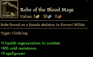 Robe of the Blood Mage