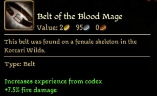 Belt of the Blood Mage