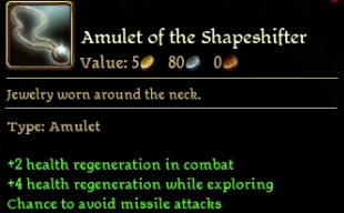 Amulet of the Shapeshifter