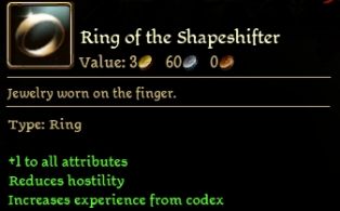 Ring of the Shapeshifter