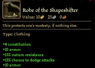 Robe of the Shapeshifter