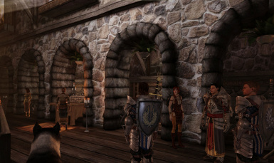 Ser Wesley and Aveline in the Lothering Chantry