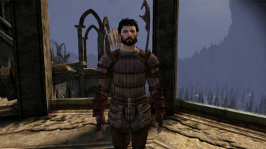 Male Hawke with bow, no blood smear