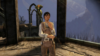 Female Hawke with tanned skin tone 2