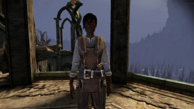 Female Hawke with dark skin tone 1