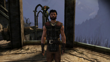 Male Hawke with tanned skin tone 1