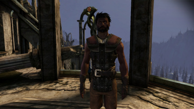 Male Hawke with dark skin tone 1