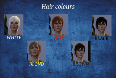Custom Hair Colours