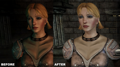 natural lighting for the character creator