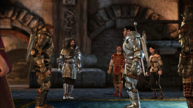 Watching the duel, Heavy Armor