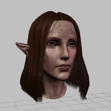toolset - alt version Bioware hair   TMP eyes