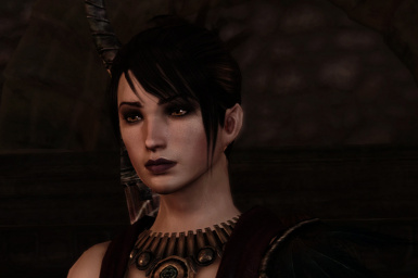 Beautiful Morrigan FaceMorph by QuincyRN
