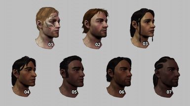 Various Cousland Family Morphs (No Mods Required)