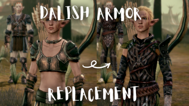 Dalish Armor Replacement