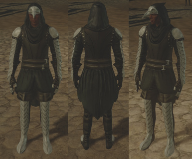Crow Assassin's Armor for Zevran