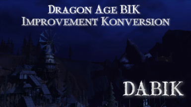 Dragon Age BIK Improvement Konversion (DABIK)