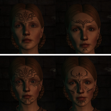 Ghilan'nain & Dirthamen - Vanilla Left, Mod Right