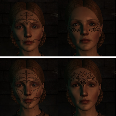 Mythal pt2 - Vanilla Left, Mod Right