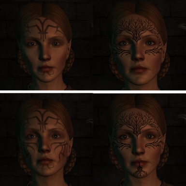Mythal - Vanilla Left, Mod Right