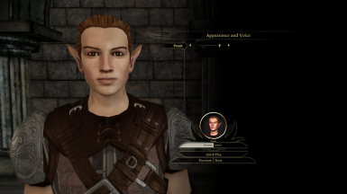 Elf Male Presets