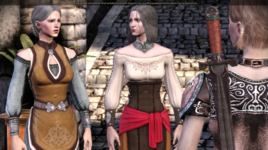Female Noble Clothing Overhaul