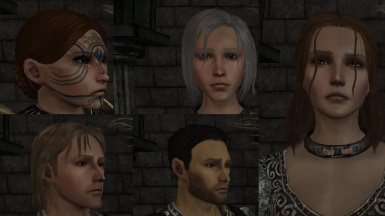 Eanew's face presets
