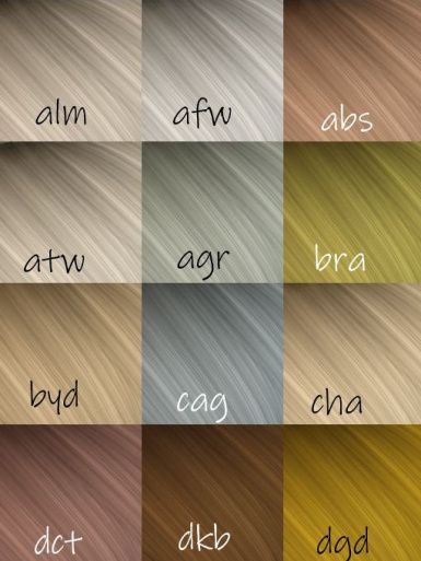 Colorful Hair -Highlighted-