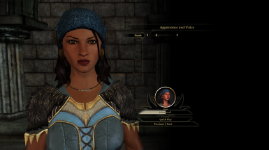 Isabela Preset (Mop File) to be used in Character Creation Screen