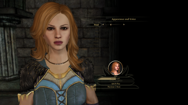 Ser Cauthrien Preset - Eyes & Nose are a bit different because of the character creation screen's limitations