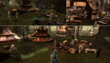 Dalish Camp in v1-1