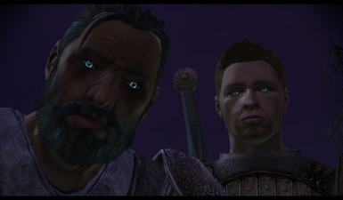 Glowing Eyes For The Grey Wardens Project At Dragon Age Mods And