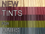 CS - NEW tints for hairs