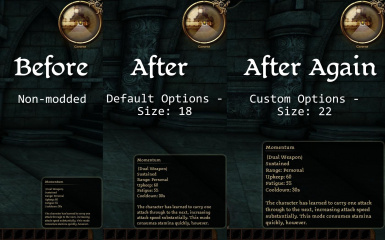 Various Tooltip Font Sizes