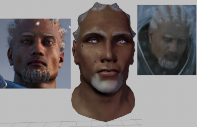 A Sten CGI Sacred Ashes Face