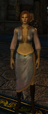Queen Anora mesh and texture