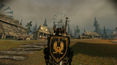 Grey Warden Runic Black Retex