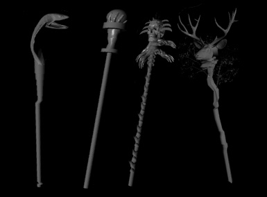 Manolaxs Staff Collection For Mages