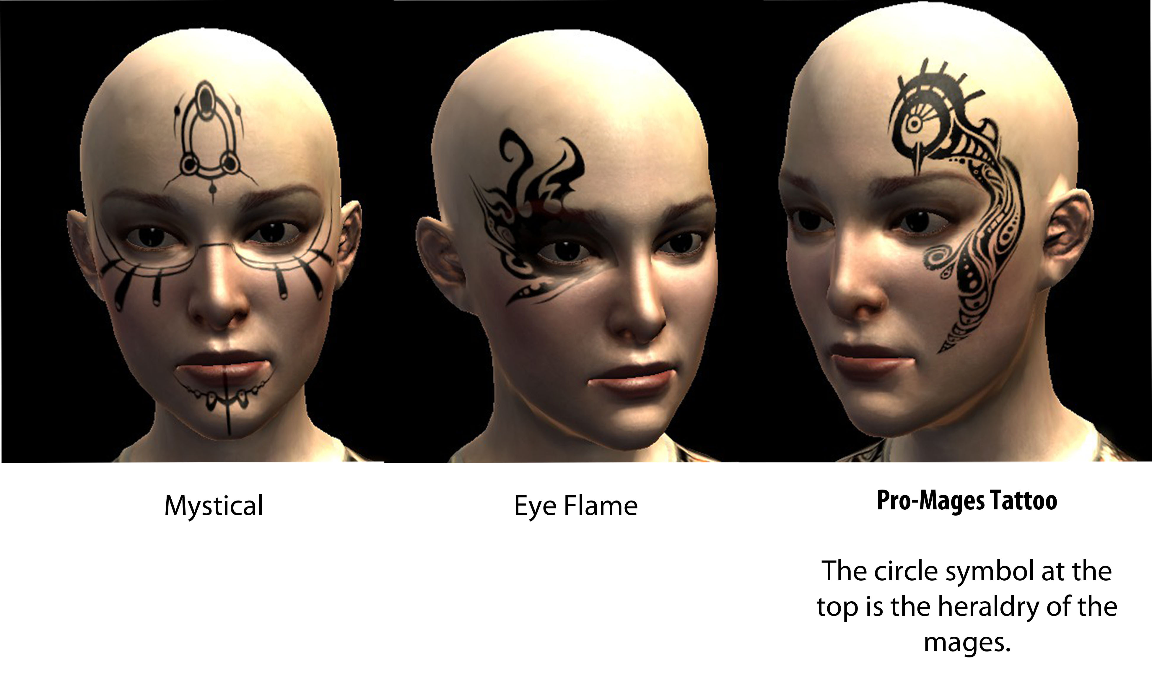 Tattoos For Dragon Age 2 At Dragon Age 2 Nexus Mods And Community