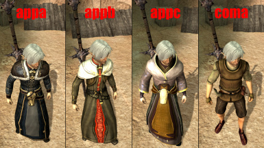 Fenris Elfmale Outfits