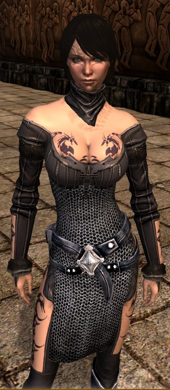 New Sexy Busty Armor for Hawke