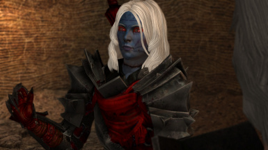 Dark Elves and Blood Maiden - Merril Isabela and Fenris at