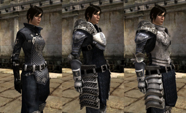 Grey Warden Armour Pack